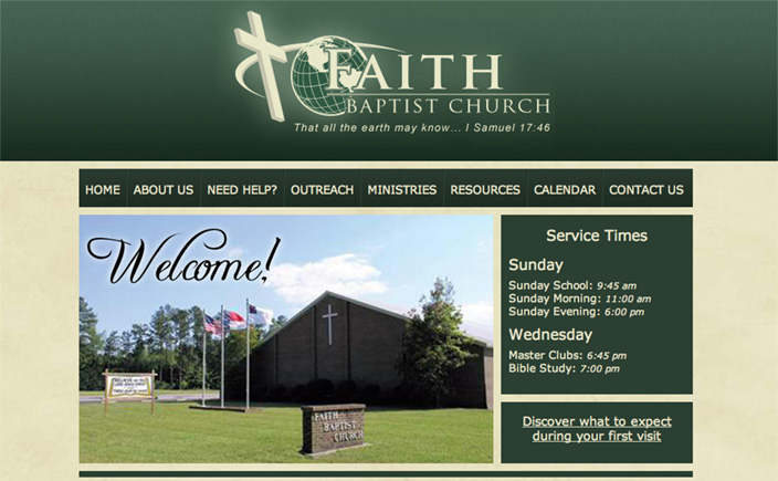 Faith Baptist Church Elizabeth City NC
