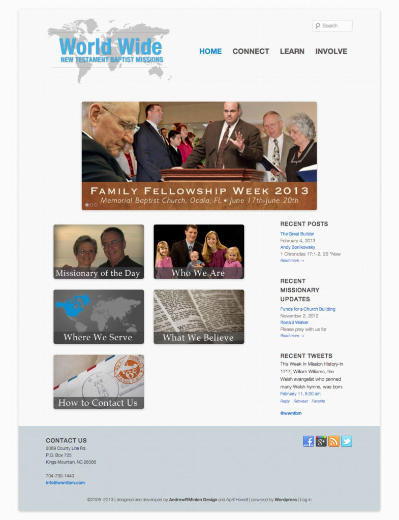 World Wide New Testament Baptist Missions