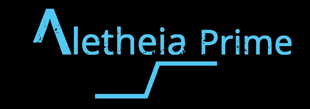 Aletheia Prime logo - dark