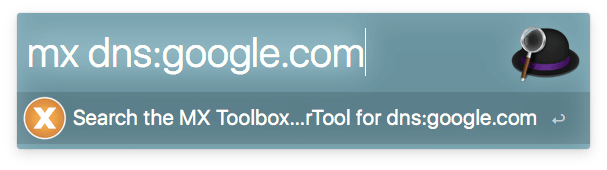 Alfred MX Toolbox SuperTool screenshot