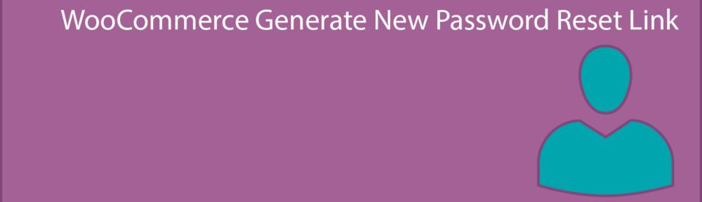 Woo Generate New Password Reset Link