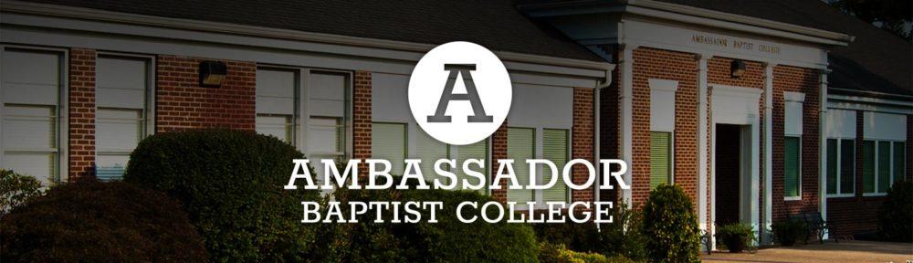 Ambassador Baptist College site redesign